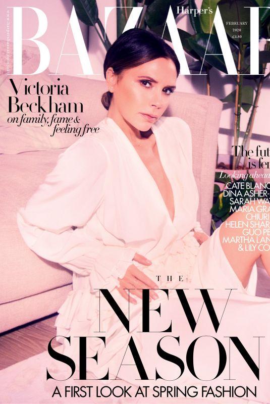 VICTORIA BECKHAM in Harper's Bazaar Magazine, UK February 2020
