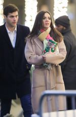 VICTORIA JUSTICE on the Set of Push in New York 01/03/2020