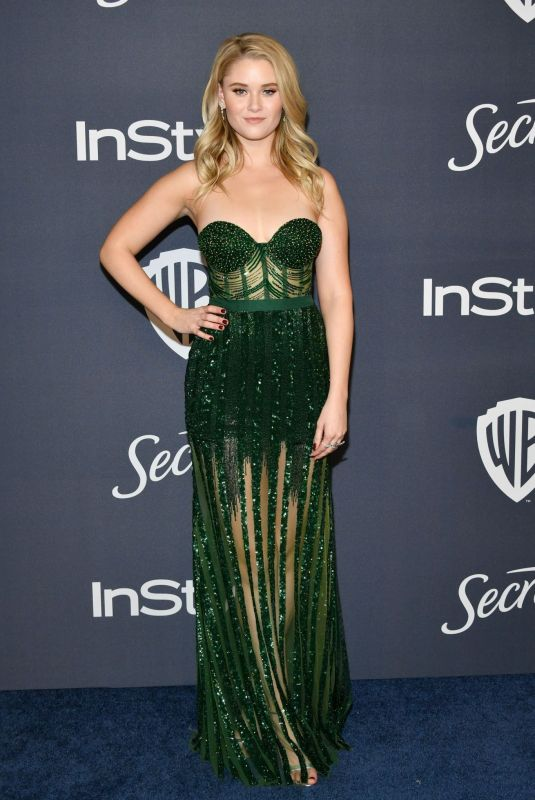VIRGINIA GARDNER at Instyle and Warner Bros. Golden Globe Awards Party 01/05/2020