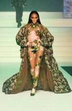WINNIE HARLOW at Jean-Paul Gaultier Haute Couture Show in Paris 01/22/2020