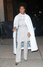 YARA SHAHIDI Arrives at ABC Studios in New York 01/15/2020