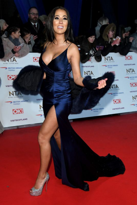 YAZMIN OUKHELLOU at National Television Awards 2020 in London 01/28/2020