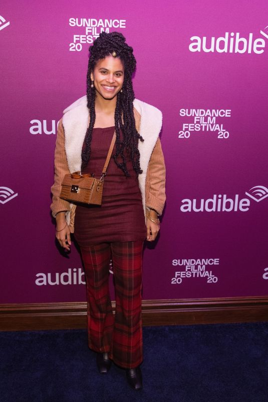 ZAZIE BEETZ at Audible VIP Party in Park City 01/25/2020