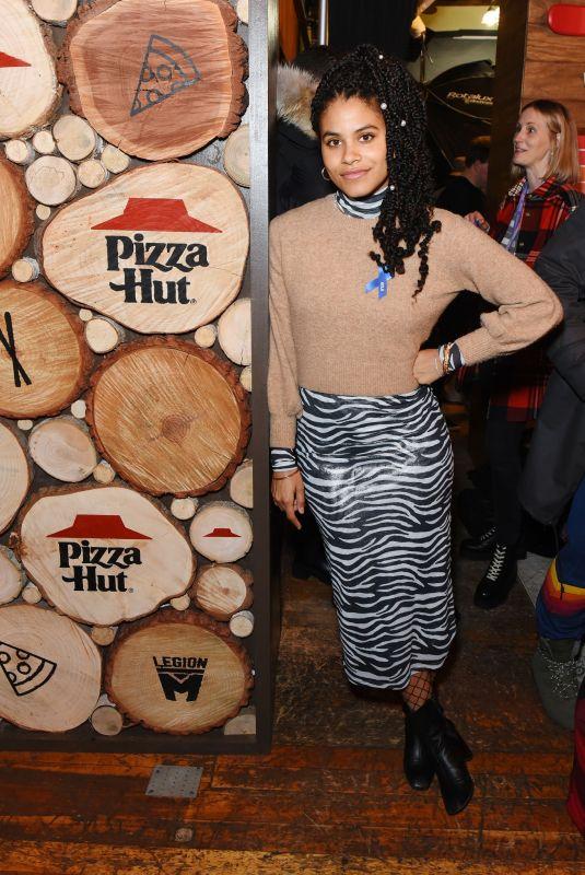 ZAZZIE BEETZ at Pizza Hut x Legion Media Lounge in Park City 01/26/2020