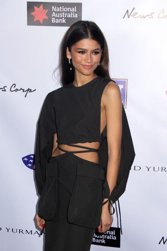 ZENDAYA COLEMAN at American Australian Arts Awards in New York 01/30/2020