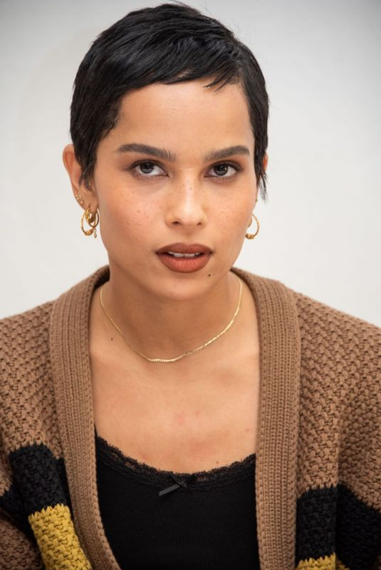 ZOE KRAVITZ at High Fidelity Press Conference in Beverly Hills 01/17/2020