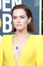 ZOEY DEUTCH at 77th Annual Golden Globe Awards in Beverly Hills 01/05/2020