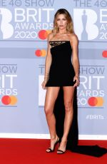 ABIGAIL ABBEY CLANCY at Brit Awards 2020 in London 02/18/2020