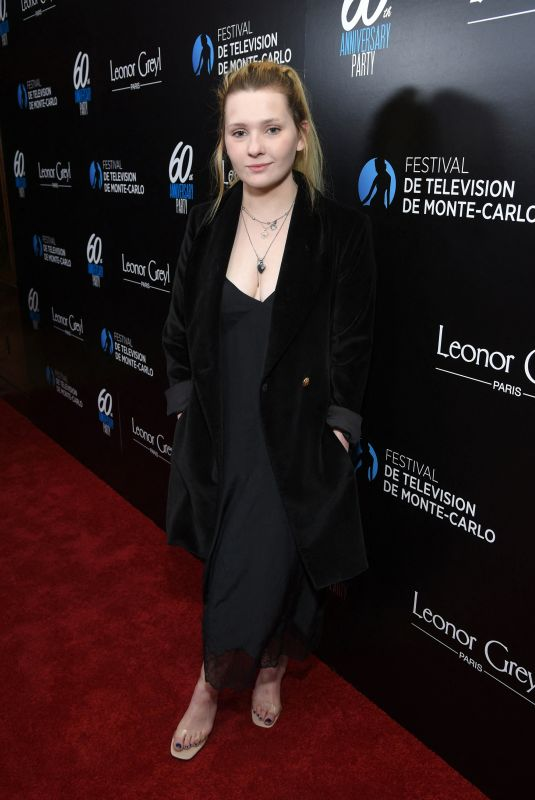 ABIGAIL BRESLIN at Monte-Carlo Television Festival Party in Los Angeles 02/05/2020