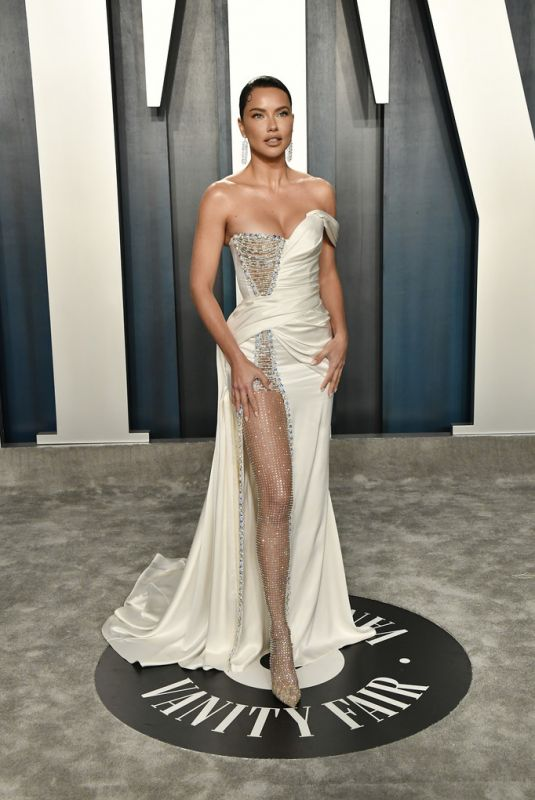 ADRIANA LIMA at 2020 Vanity Fair Oscar Party in Beverly Hills 02/09/2020