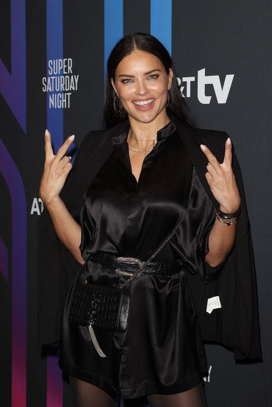 ADRIANA LIMA at AT&T Super Saturday Night in Miami 02/01/2020