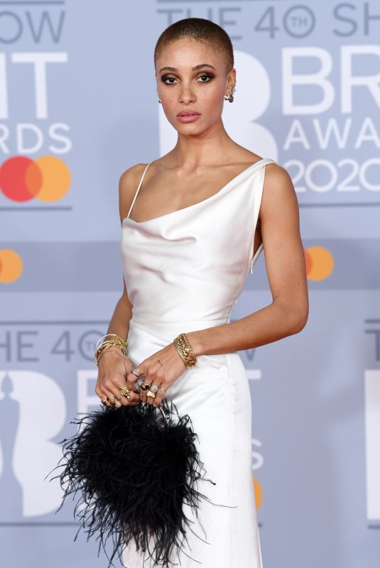 ADWOA ABOAH at Brit Awards 2020 in London 02/18/2020