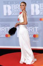 ADWOA ABOAH at Brit Awards 2020 in London 02/18/2020