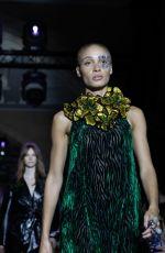 ADWOA ABOAH at Halpern Runway Show at London Fashion Week 02/15/2020