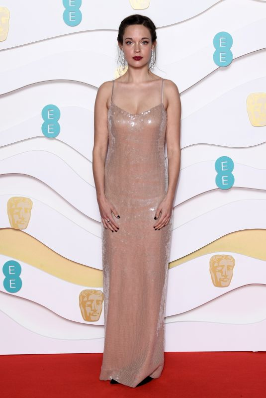AGGY K. ADAMS at EE British Academy Film Awards 2020 in London 02/01/2020