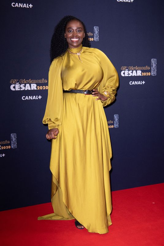 AISSA MAIGA at Cesar Film Awards 2020 in Paris 02/28/2020