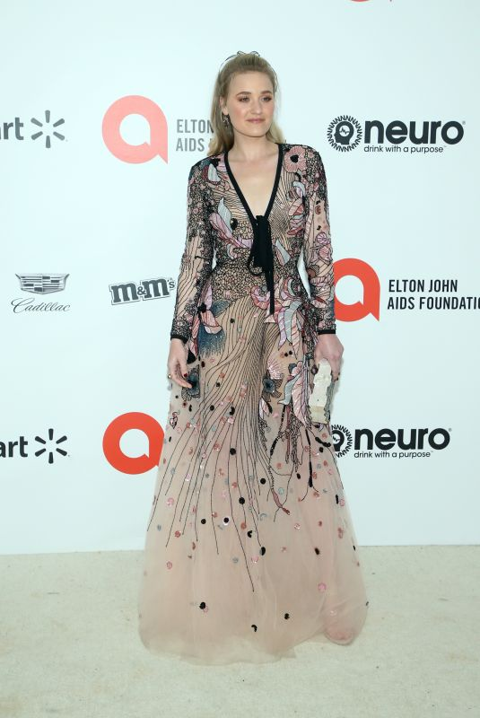 AJ MICHALKA at Elton John Aids Foundation Oscar Viewing Party in West Hollywood 02/09/2020