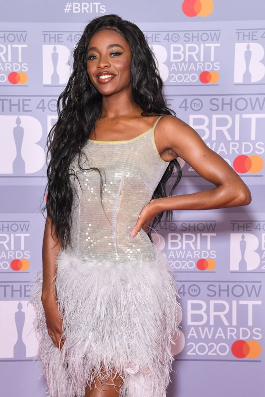 AJ ODUDU at Brit Awards 2020 in London 02/18/2020