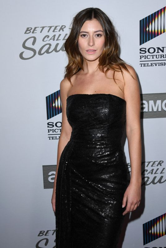ALEJANDRA GUILMANT at Better Call Saul, Season 5 Premiere in Hollywood 02/05/2020