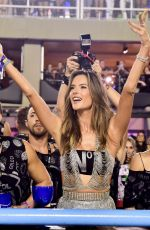 ALESSANDRA AMBROSIO at Carnival in Rio 02/24/2020
