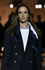 ALESSANDRA AMBROSIO at Tommy Hilfiger Fashion Show at NYFW in New York 09/08/2019