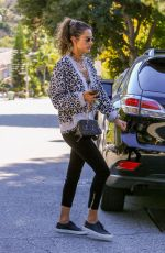ALESSANDRA AMBROSIO Out and About in West Hollywood 02/19/2020
