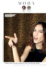 ALEXA CHUNG for Glamour Magazine, Spain March 2020