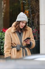 ALEXA CHUNG Out and About in Paris 02/27/2020