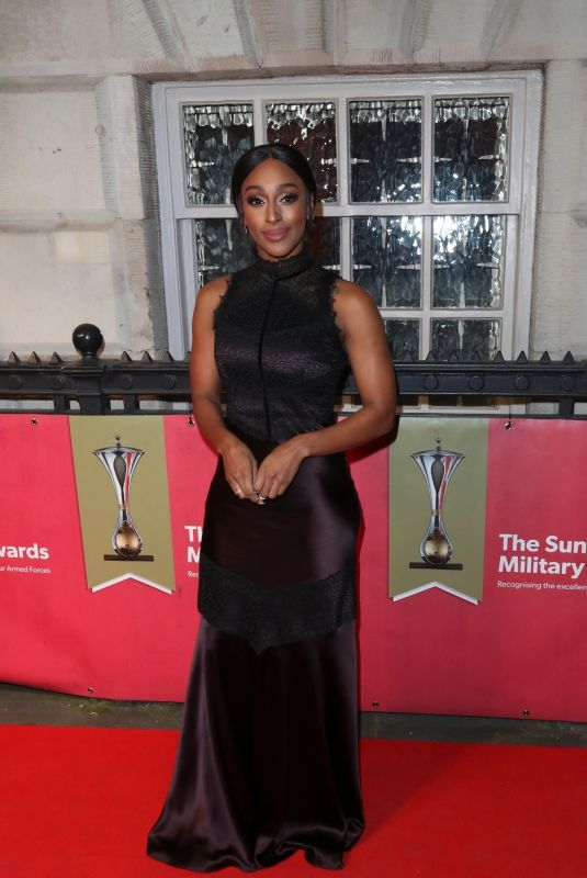 ALEXANDRA BURKE at The Sun Military Awards in London 02/06/2020