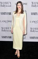 ALEXANDRA DADDARIO at Vanity Fair & Lancome Toast Women in Hollywood in Los Angeles 02/06/2020