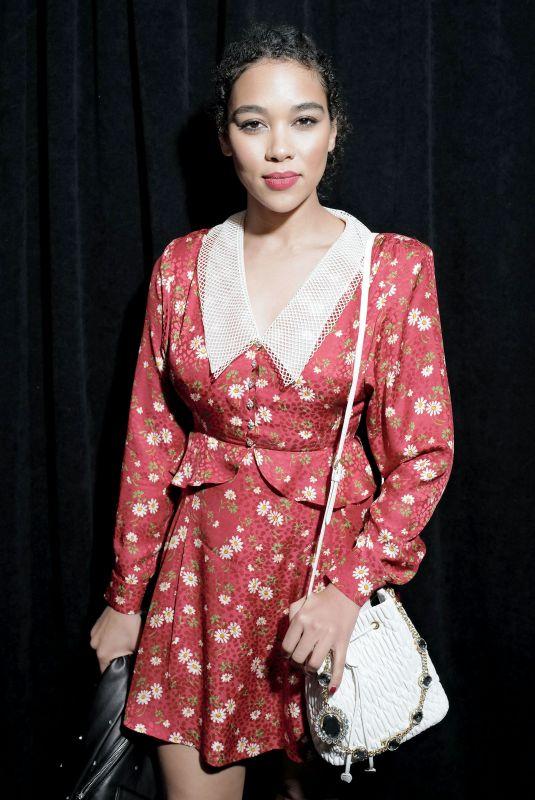 ALEXANDrA SHIPP at Miu Miu Women's Tales Party and Dinner at New York Fashion Week 02/11/2020