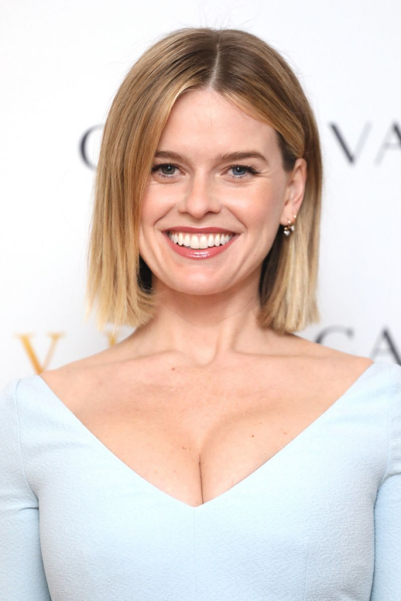 ALICE EVE at Belgravia Photocall in London 02/17/2020
