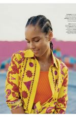 ALICIA KEYS in The Sunday Times Style Magazine, February 2020