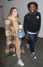 ALLISON HOLKER at LAX Airport in Los Angeles 02/12/2020