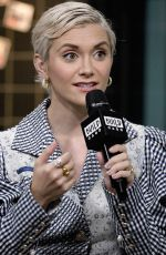 ALYSON STONER at Build Series in New York 02/11/2020