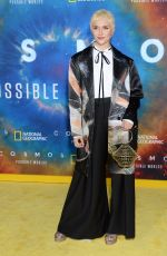 ALYSON STONER at Cosmos: Possible Worlds Premiere in Los Angeles 02/26/2020
