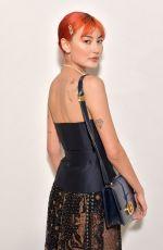 AMALIE GASSMANN at Dior Show at Paris Fashion Week 02/25/2020