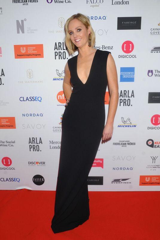 AMANDA DAVIES at 3rd Annual Restaurant Association Gala Dinner in London 02/24/2020