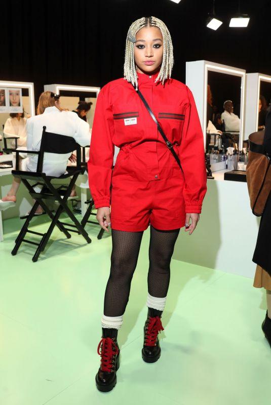 AMANDLA STENBERG at Gucci Show at Milan Fashion Week 02/20/2020