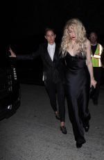 AMBER HEARD and BIANCA BUTTI Arrives at WME Pre-oscars Party in Hollywood 02/07/2020