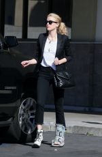 AMBER HEARD Meets with Her Stylist to Prepare for Oscars in Los Angeles 02/07/2020