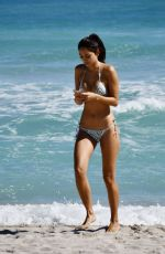 AMBRA GUTIERREZ in Bikini at a Beach in Miami 02/02/2020