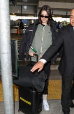 AMELIA HAMLIN at Los Angeles International Airport 02/12/2020