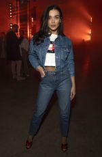 AMY JACKSON at Tommy Hilfiger Show at London Fashion Week 02/16/2020