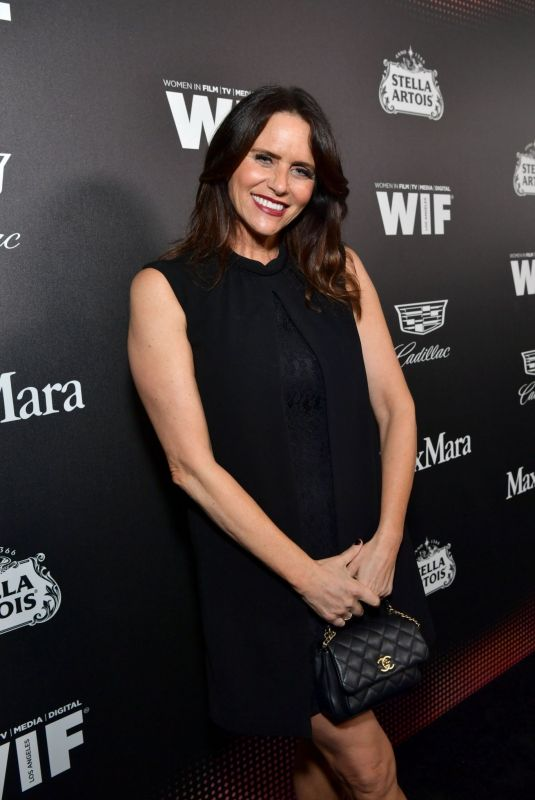 AMY LANDECKER at 13th Annual Women in Film Female Oscar Nominees Party in Hollywood 02/07/2020