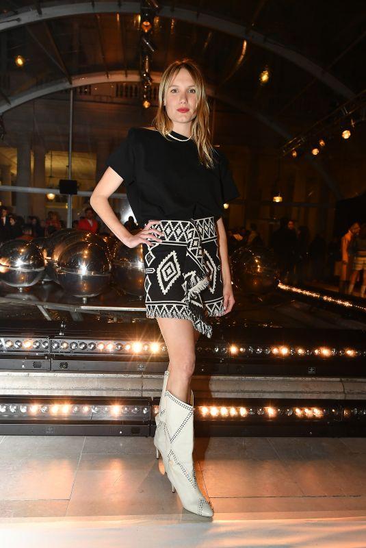 ANA GIRARDOT at Isabel Marant Fashion Show in Paris 02/27/2020