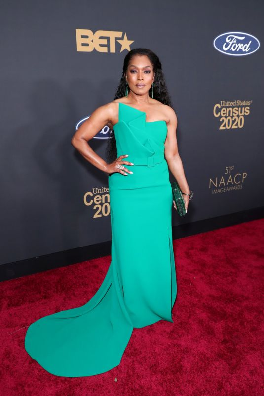 ANGELA BASSETT at 51st Naacp Image Awards in Pasadena 02/22/2020