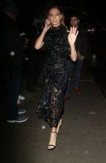 ANGELA SARAFYAN at Christian Siriano Show at New York Fashion Week 02/06/2020