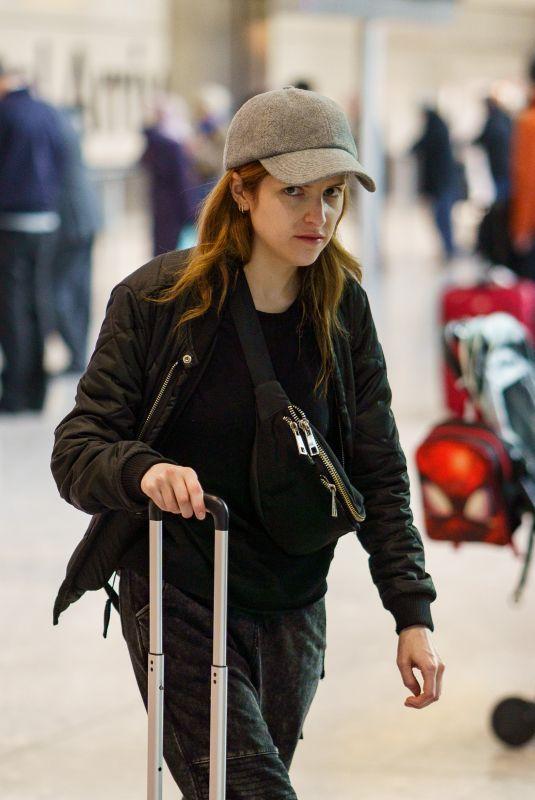 ANNA KENDRICK at Heathrow Airport in London 02/12/2020
