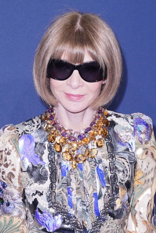 ANNA WINTOUR at 22nd Annual Amfar Gala in New York 02/05/2020